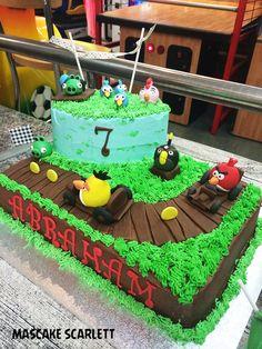 MASCAKE SCARLETT: ANGRY BIRDS GO CAKE (para mi nene...)