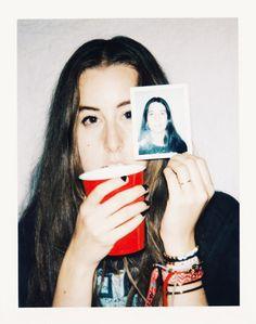 Alana Haim at FYF (photo by wiissa)