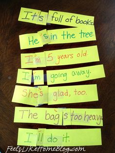 Hands-On Contractions Activity – Learning Contractions with Scissors