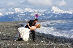Wedding At Bishops Beach In Homer Alaska Destination C Don Pitcher