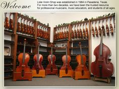 Lisle Violin Shop - Violin, Viola, Cello, Bass, Rental, Sales, Repair Services They hand make all of their instruments go to their site for more info, I rent from here you will not be disappointed..., TRUST ME they have high quality instruments.