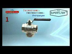 Superfilter   kulový kohout s filtrem CZ