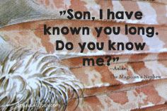 DIY Narnia theme, C.S. Lewis,, Aslan quote from The Magician's Nephew by dennasideas.com