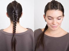Hair Styles Ideas : From summer braids hairstyles, to quick top knots, easy half up half down looks . Box Braids Hairstyles, Kids Braided Hairstyles, Cool Hairstyles, Updo Hairstyle, Braided Updo, Hairstyle Ideas, Medium Hair Styles, Short Hair Styles, Best Braid Styles