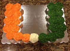 End of Season Party! Grad Parties, First Birthday Parties, 22 Birthday, Themed Parties, Birthday Cakes, Miami Football, Football Season, Hurricane Party, Football Treats