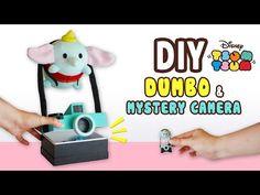 DIY Dumbo & Mystery Camera Storage Box(FREE PATTERN) Collab with Kawaii Felting - Tsum Tsum Plushie - YouTube