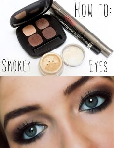 How To: The Perfect Smokey Eye for weddings, proms, or any special occasion #makeuptutorial