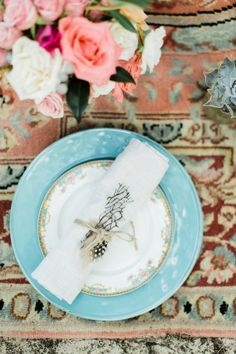 Boho place setting on a rug in a tent on a beach   Matthew Ree Photography on @burnettsboards via @aislesociety