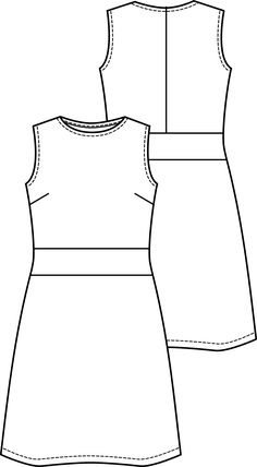 JURK | Knipmode Flat Sketches, Handmade Christmas Gifts, Drawing Clothes, Technical Drawing, Fashion Flats, Design Elements, Fabric Design, Feminine, Crop Tops