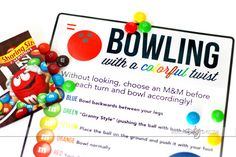 Year of Sports-Themed Date Ideas.  LOVE this fun bowling date night.