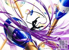 Korean Art, Asian Art, Sketch Painting, Environmental Art, Pattern Illustration, Colorful Drawings, Painting Patterns, Art Sketches, Creative Design