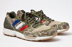 BAPE x Undefeated x adidas Consortium ZX 5000 – A Detailed Look    Camo making it's comeback!