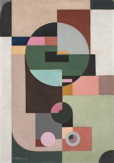 Walter Dexel (German, 1890– 1973)Electric Counter (Der...