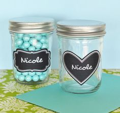 #organize your pantry by storing spices in our #MasonJars!  #springcleaning