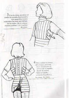Euge Lépori Sewing Hacks, Sewing Tutorials, Sewing Projects, Diy Clothing, Sewing Clothes, Sewing Patterns Free, Clothing Patterns, Tailored Fashion, Tailoring Techniques