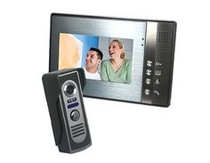 SY806M Home Security Video Door Phone Intercom with Outdoor CMOS Camera and 7inch TFT LCD Monitor by QLPD. $333.42. This is a home security video door phone intercom.