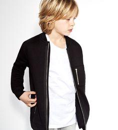 Image 1 of Long zipped sweatshirt from Zara
