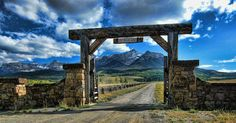 Last Dollar Ranch on Last Dollar Road north of Telluride - John Johnson
