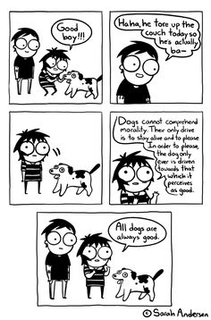 Sarah's Scribbles by Sarah Andersen for September 2017 - GoComics Derp Comics, Cute Comics, Funny Comics, Saras Scribbles, Sarah Andersen Comics, Sara Anderson, 4 Panel Life, Funny Comic Strips, Mini Comic
