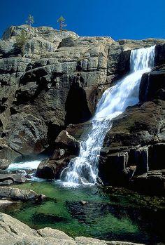 waterwheel Falls Yosemite pictures | Waterwheel Falls Near Glen Aulin, Yosemite - a photo on Flickriver