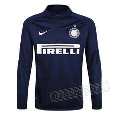 Dernier Sweatshirt Training Inter Milan 2016-2017 France Thai Edition Noir