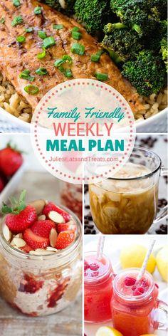 Thursday JEMs {Julie's Easy Meal Plans} 7/7/16