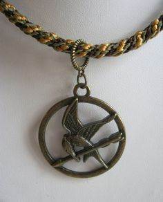 Mockingjay pendant necklace hunger games one of a kind mockingjay pendant necklace hunger games one of a kind bgg mozeypictures Images
