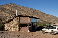 Matroosberg Ski Cabin, two hours north of Cape Town, South Africa photographed by Chris Davies Tiny House Cabin, My House, Tiny Houses, Westerns, Picture Places, Castle House, Sustainable Architecture, Adventure Is Out There, Beach House