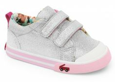 See Kai Run Girls Sneaker from seekairun.com - cool baby shoes, toddler shoes, kids shoes and baby booties.