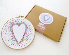 Embroidery Kit DIY Modern Sampler Hand Embroidery by OhSewBootiful