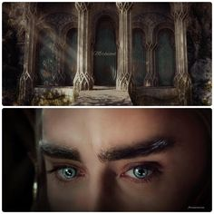 What awaits you behind the Elvenking's gate? - Eyes that take you captive