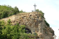 Once the home of a hermetic monk, this cave now houses a small church