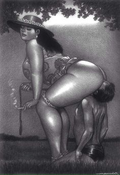 Sexual Ebony Pictures Drawings 31