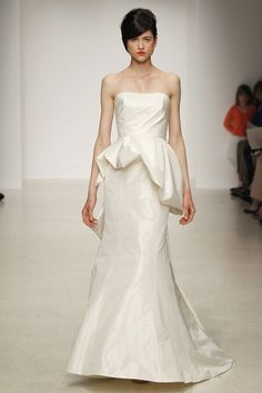 Cool wedding dress by Amsale Spring bridal gowns