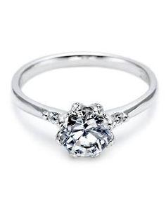 #Tacori , simple perfection #wedding #ring