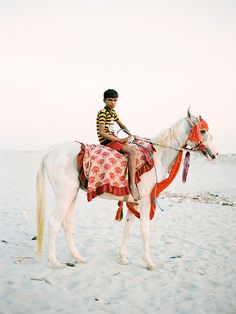 Boy on Horse by A. Jacona