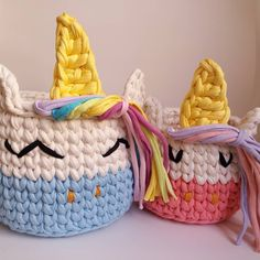 Jute Crafts, Diy Crafts For Gifts, Blanket Yarn, Merino Wool Blanket, Unicorn Pictures, Crochet T Shirts, Knit Basket, Crochet Mermaid, T Shirt Yarn