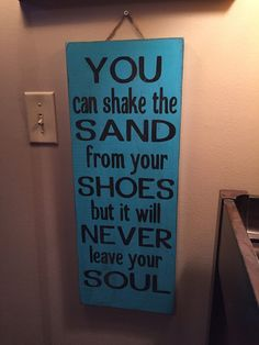 custom wood signs  you can shake the sand by SandJBargainVault