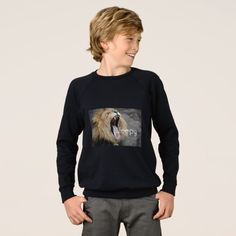 Sleepy lion sweatshirt