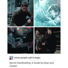 supernatural tumblr textpost destiel