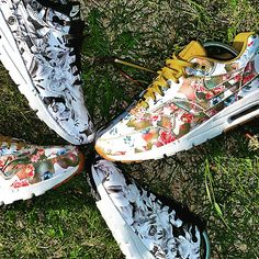 nike trainers low tops floral liberty edition spring fashion airmax Instagram picture of NIKE FOOTWEAR Low-tops & trainers WOMEN on YOOX.COM