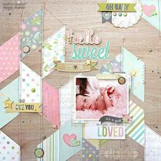 Hello sweet little one. :: 1 photo layout. ::