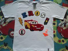 Camisa personalizada Carros Mcqueen