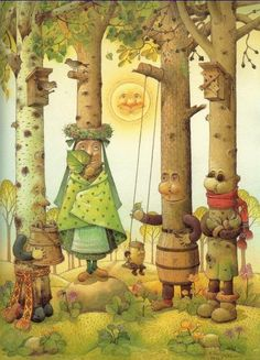 story book illustrations