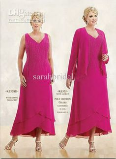Mother of bride dresses plus size pink
