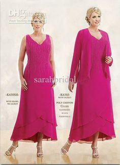 Fuschia Dresses for Brides Mother