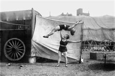 vintage everyday: Circus Lives during the Early 20th Century