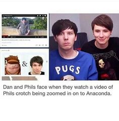 dan was laughing the person just screen shotted it before to make it look like phan proof. kinda dumb but i guess its funny. still though dont use things out of context against people to prove something