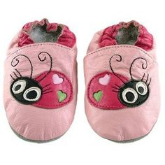 Ministar™ Designs by Bobux Baby Shoe - Pink Lady Bug