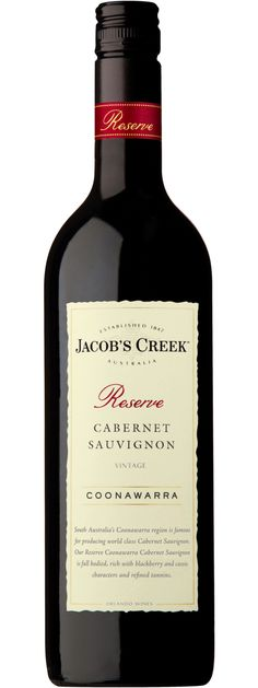 Jacob's Creek Reserve Cabernet Sauvignon